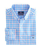 Ferry Boat Plaid Classic Tucker Shirt