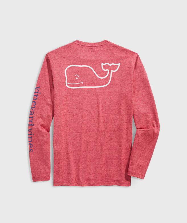 Whale Logo Long-Sleeve Harbor Performance Tee