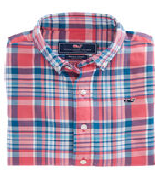 Boys Middleton Plaid Flannel Whale Shirt