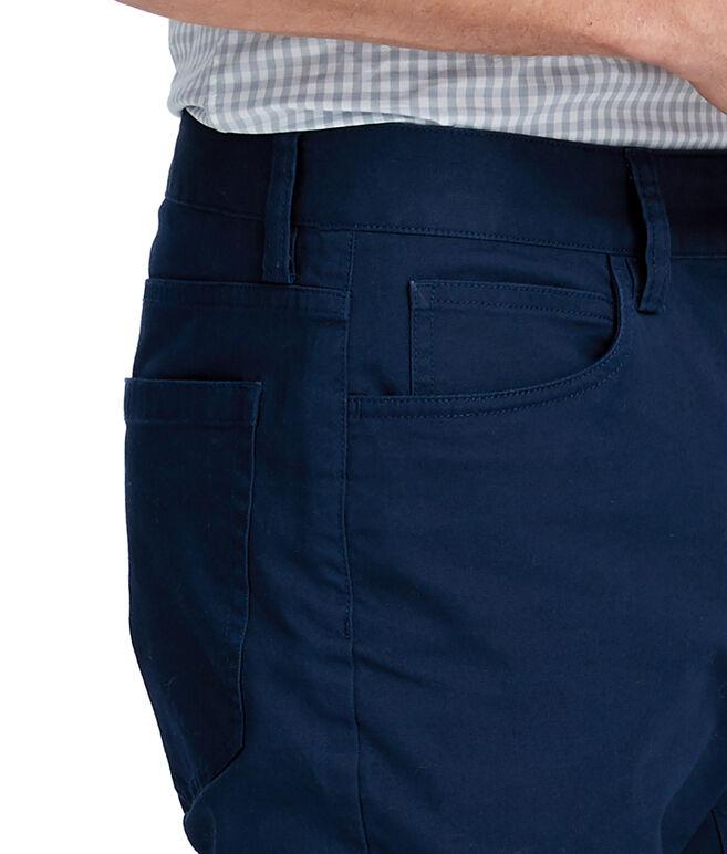 Canvas 5 Pocket Slim Pants