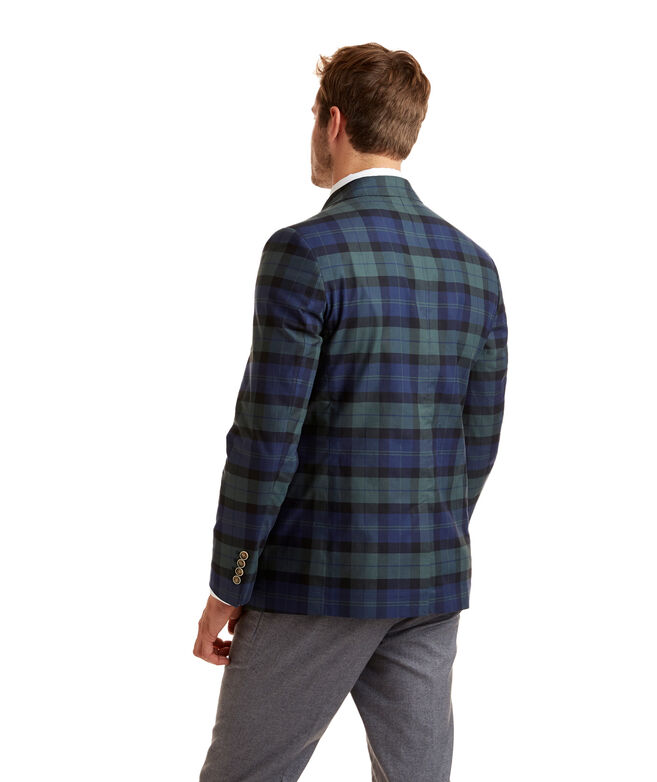 Unconstructed Blackwatch Back Cove Plaid Blazer