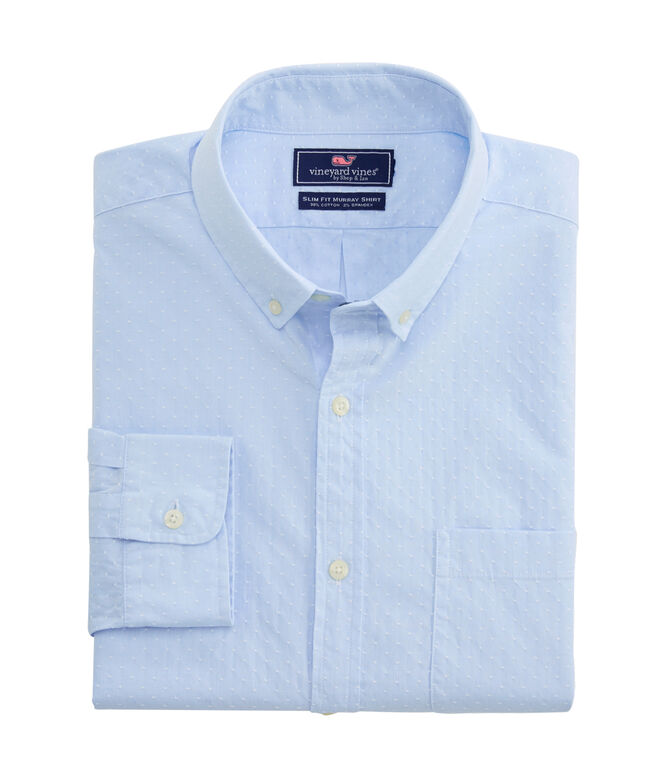 Slim Wavine Dobby Murray Shirt