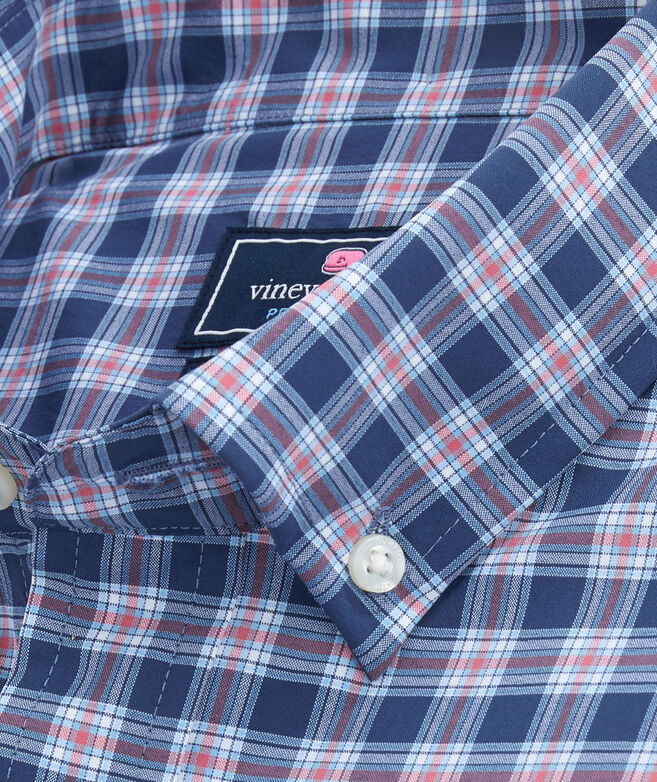 Classic Fit Brookings On-The-Go Performance Tucker Shirt