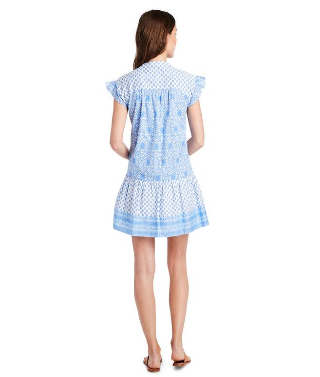 Tile Medallion Vineyard Tunic Dress