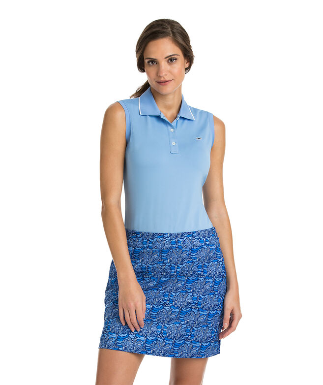 Renee Sleeveless Polo