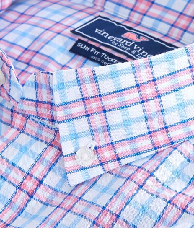 Kennard Plaid Slim Tucker Shirt