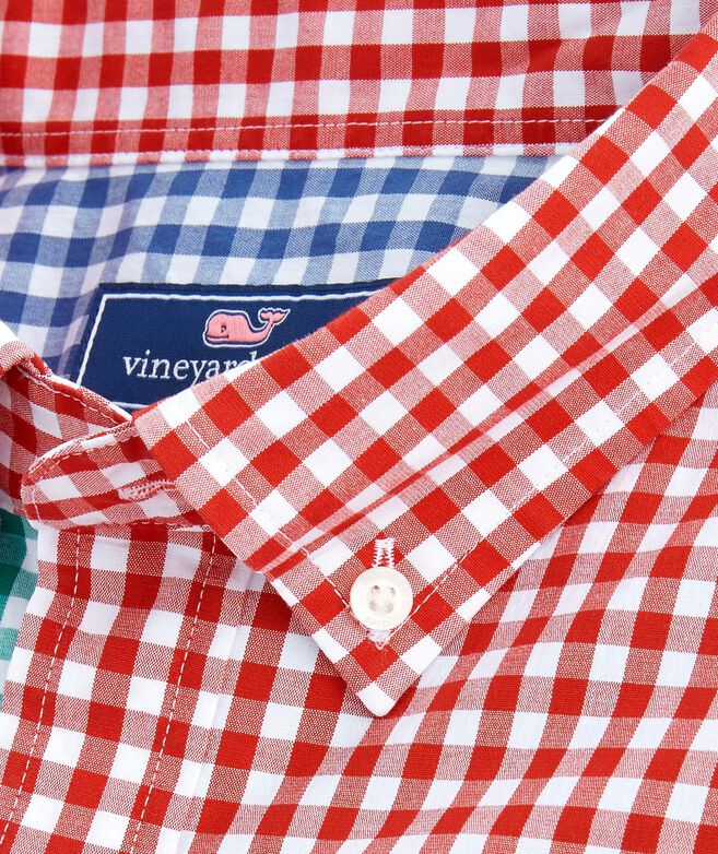 Party Carleton Gingham Classic Tucker Shirt