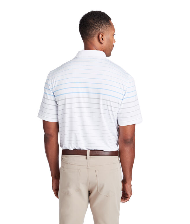 Eagle Hill Stripe Sankaty Performance Polo