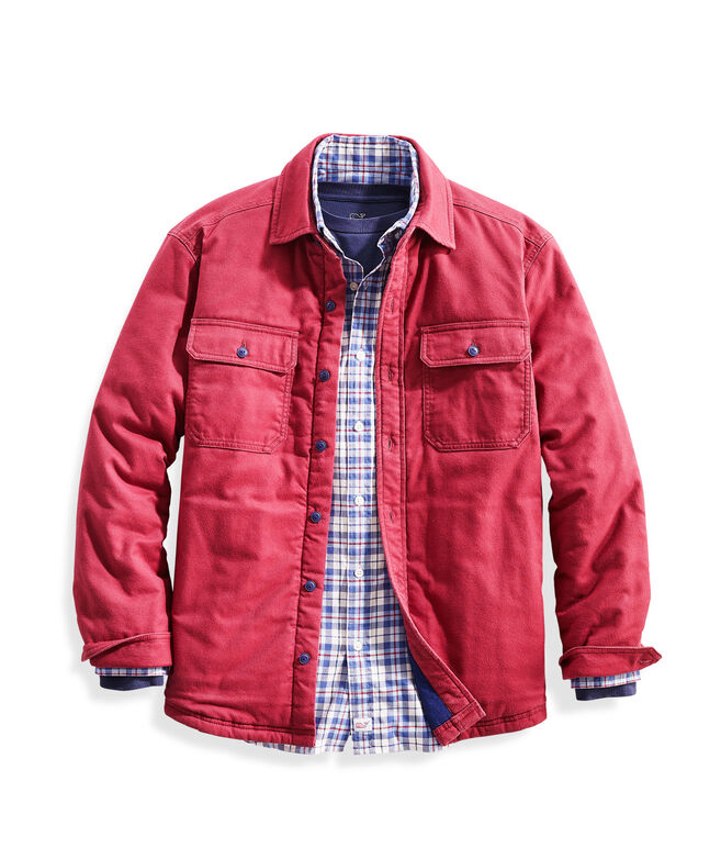 Slopeside Flannel Overshirt