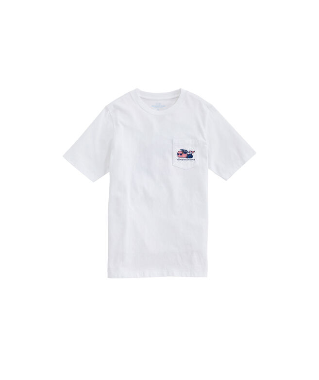 Boys' Class Of 2020 Graduation Whale Short-Sleeve Pocket Tee