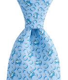 Horseshoe Crab Printed Tie