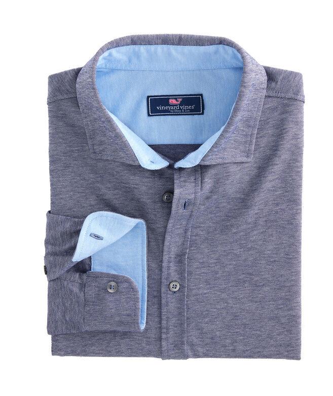 Geneva Knit Woven Shirt