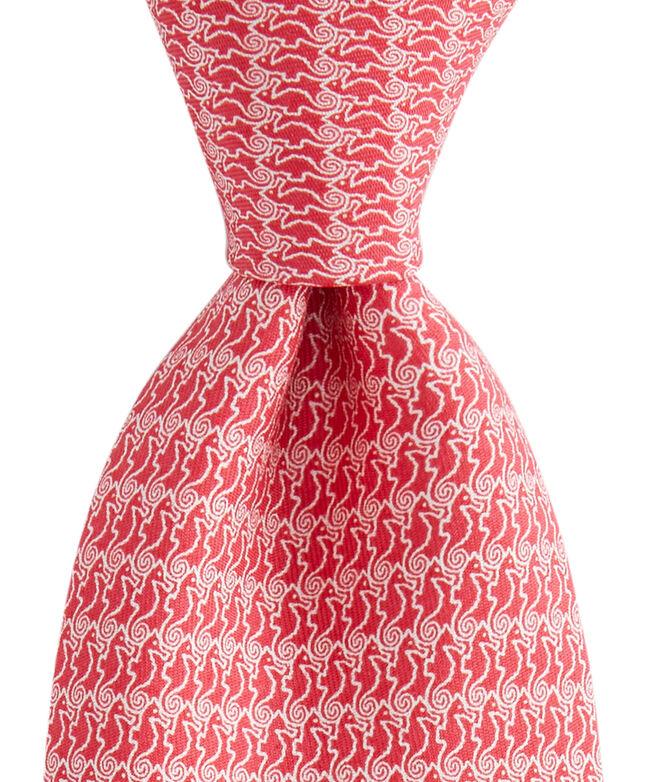 Seahorse XL Printed Tie