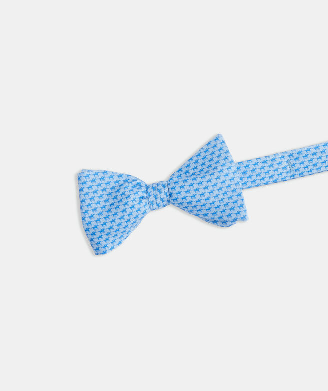 Kentucky Derby Tonal Gallop Printed Bow Tie