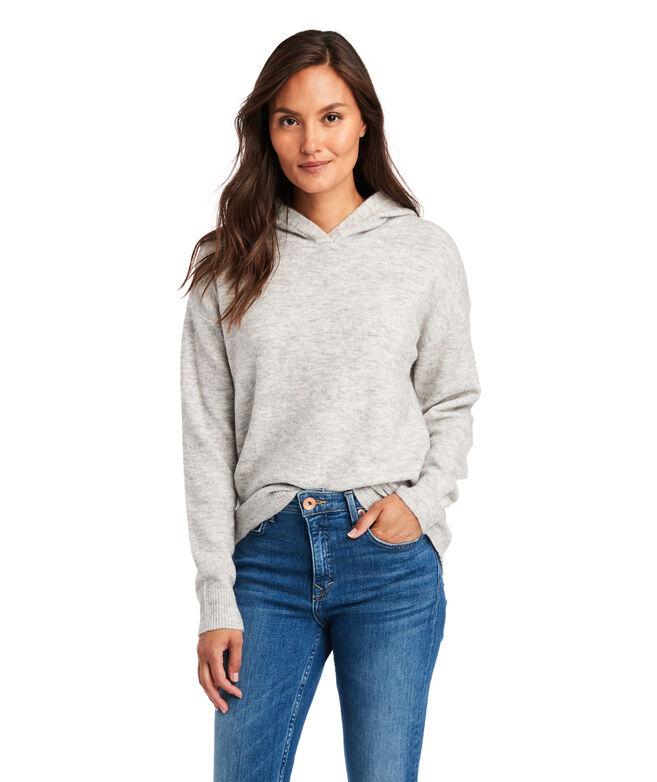 Plush Hoodie Sweater
