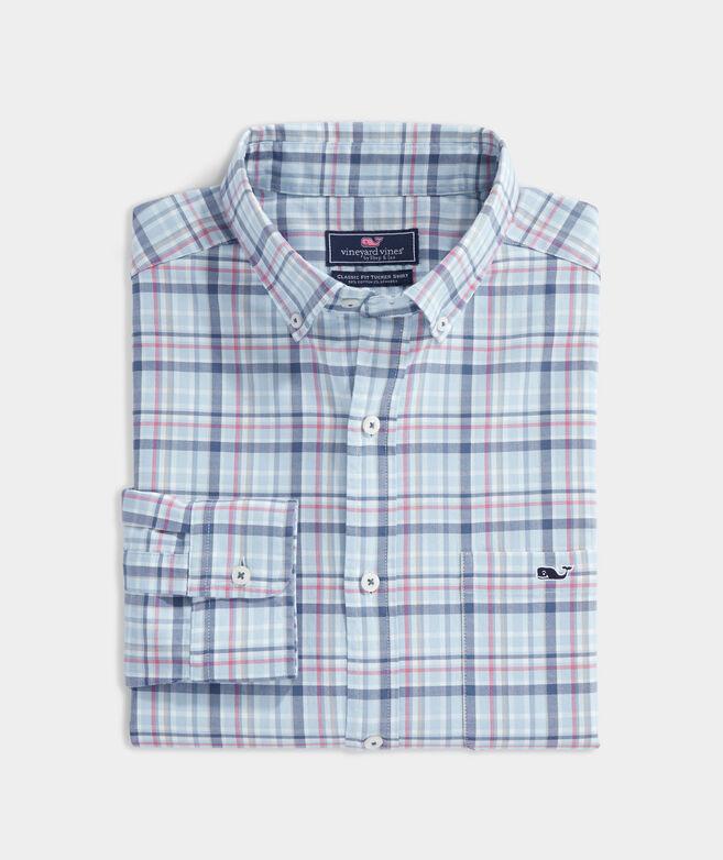 Classic Fit Tidal Twill Tucker Shirt