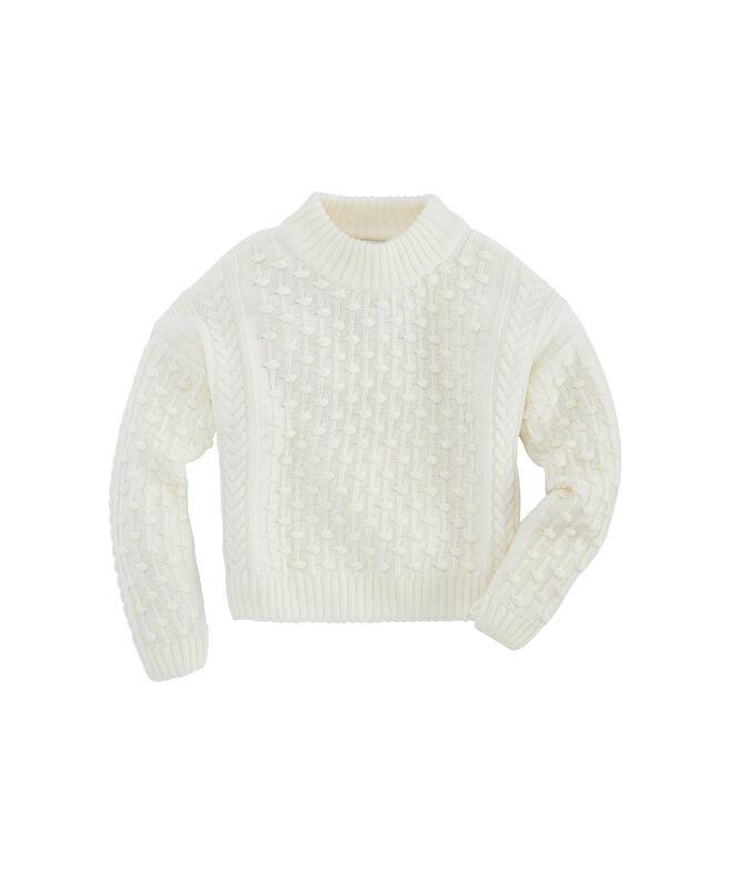 Girls Bobble Sweater