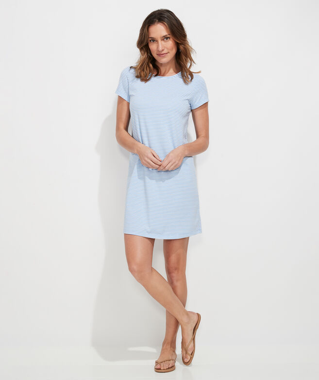 Edgartown Madaket Striped T-Shirt Dress