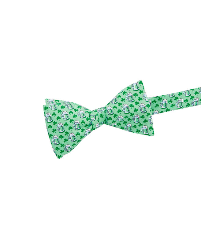 St. Paddy's Stein Printed Bow Tie
