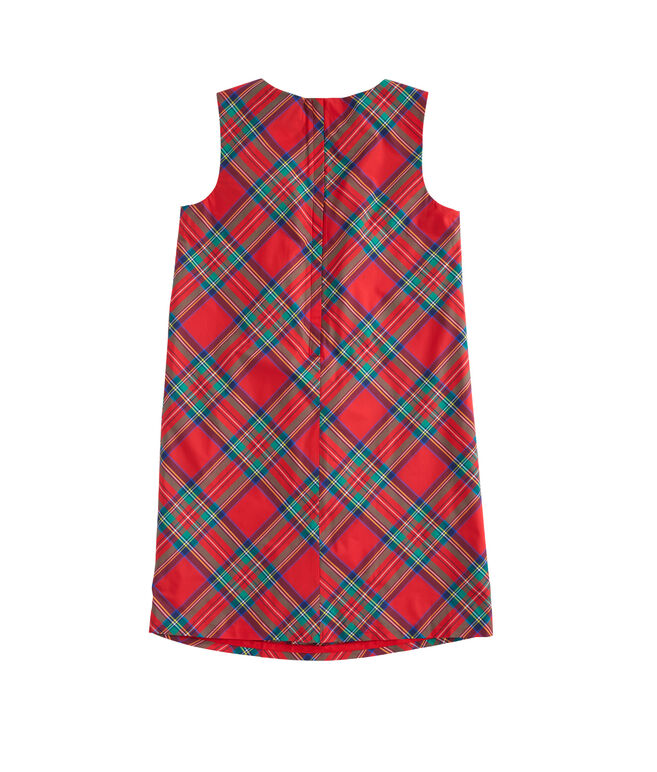 Girls Jolly Plaid Holiday Dress (8-16)