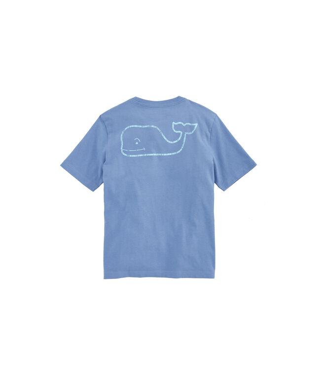 Kids Vintage Whale Pocket T-Shirt