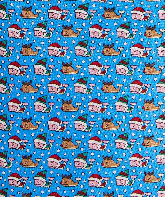 Santa's Helper Printed Tie