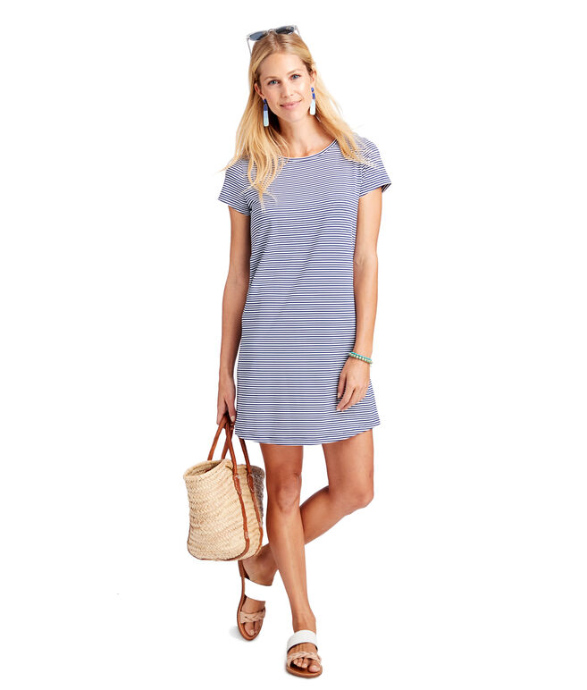 Striped Sankaty Madaket Tee Dress