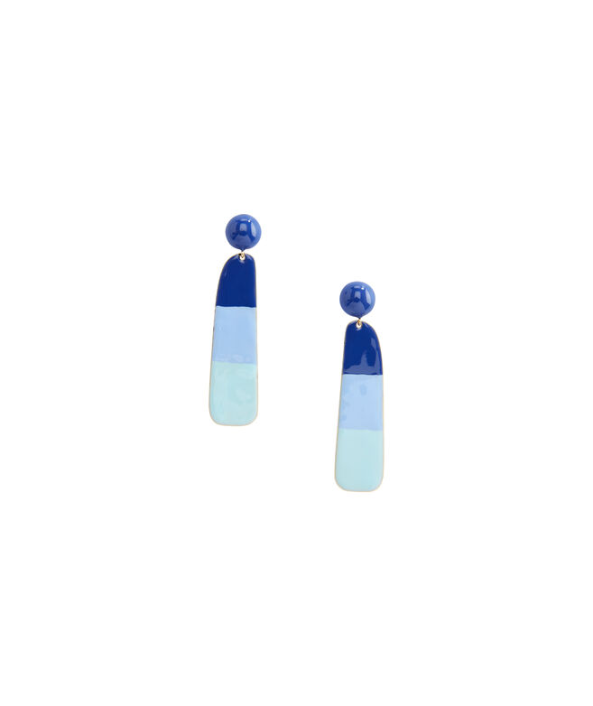 Enamel Painted Earrings
