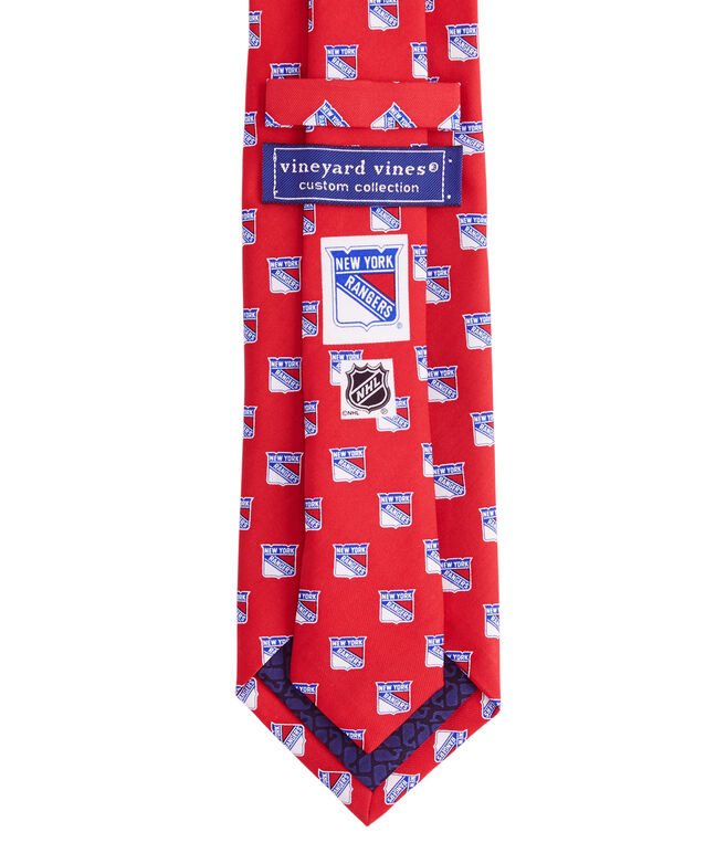 purchase cheap ba79b a01a8 New York Rangers Logo Tie