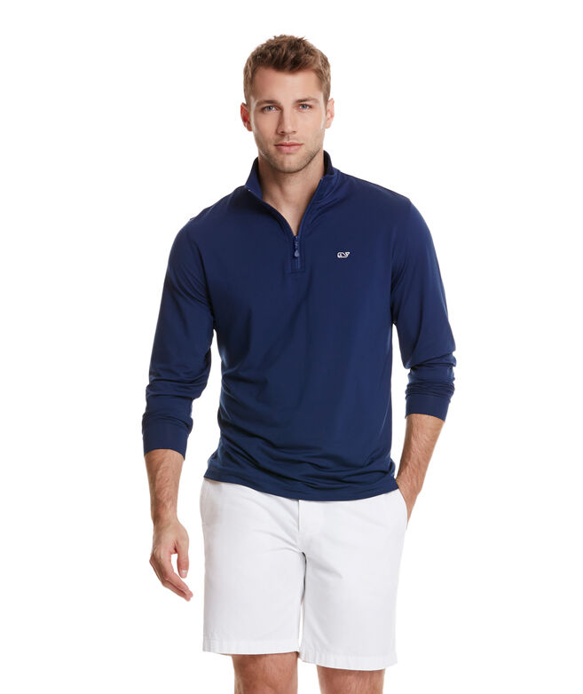 OUTLET Men's Jersey 1/4-Zip Pullover