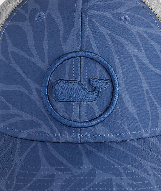 In Full Bloom Whale Dot Performance Trucker Hat