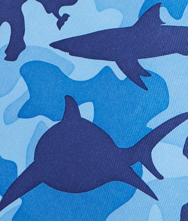 Mens Shark Week Camo Tie