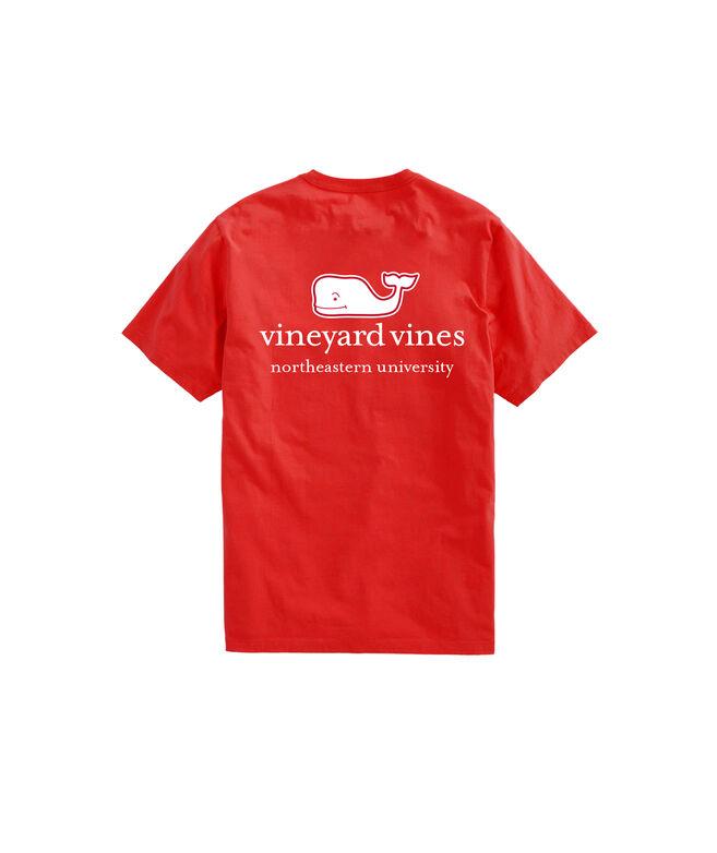 Northeastern University Whale Logo T-Shirt