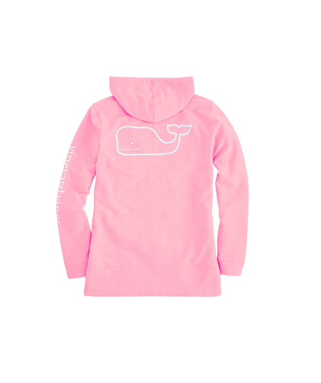 OUTLET Women's Vintage Whale French Terry Hoodie