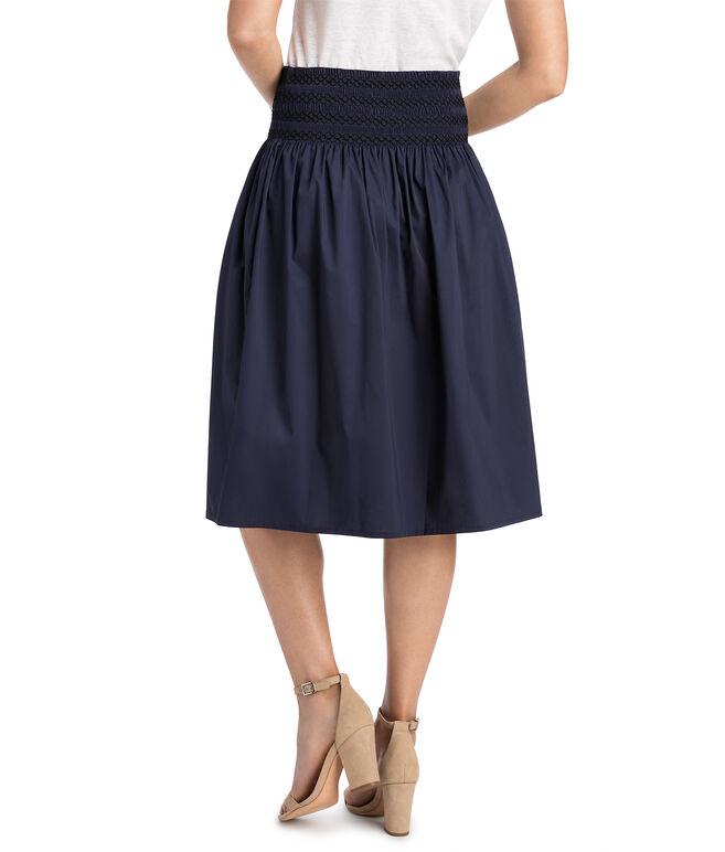 Smocked Waist Skirt