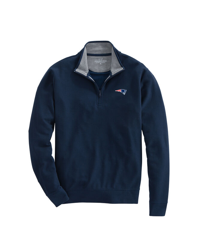 New England Patriots Saltwater 1/4-Zip
