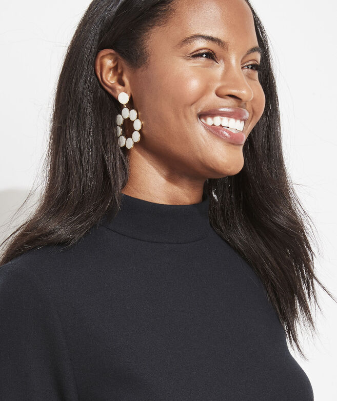 Gold Opalescent Earrings