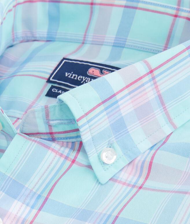Long Bay Plaid Classic Murray Shirt
