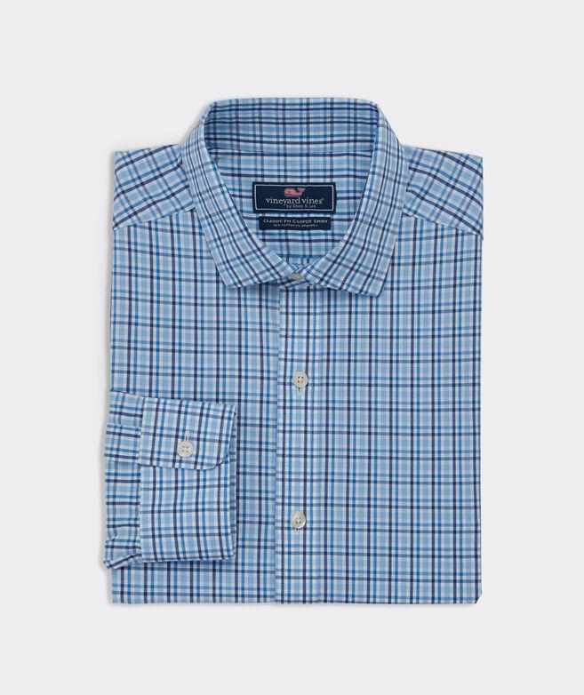 Classic Fit Fjord Spread Collar Cooper Shirt