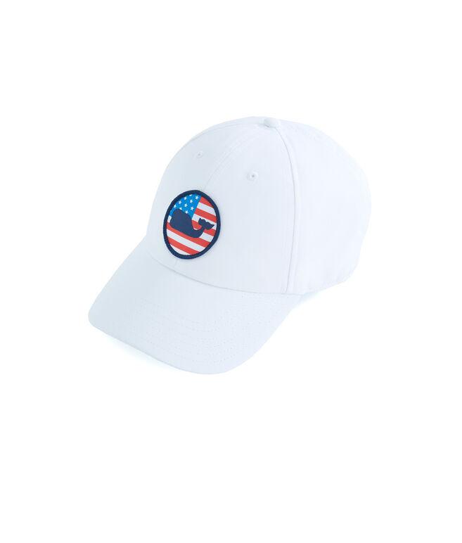 Performance Patriot Whale Dot Hat