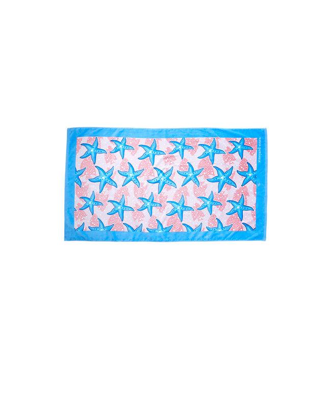 Starfish Chappy Beach Towel