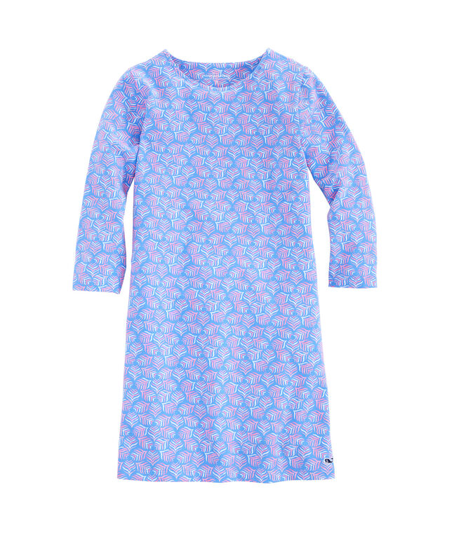 Girls Whaletail Tisbury Knit Dress