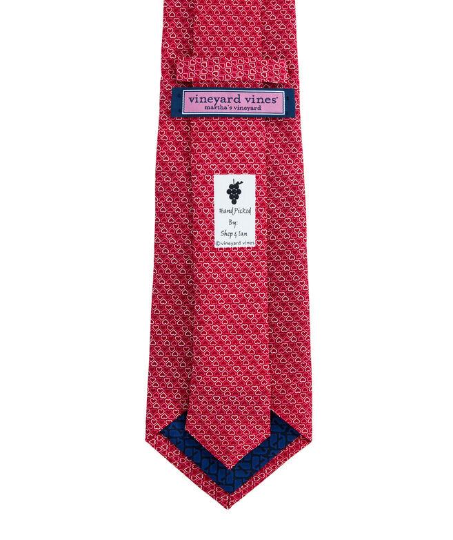Hearts Printed Tie