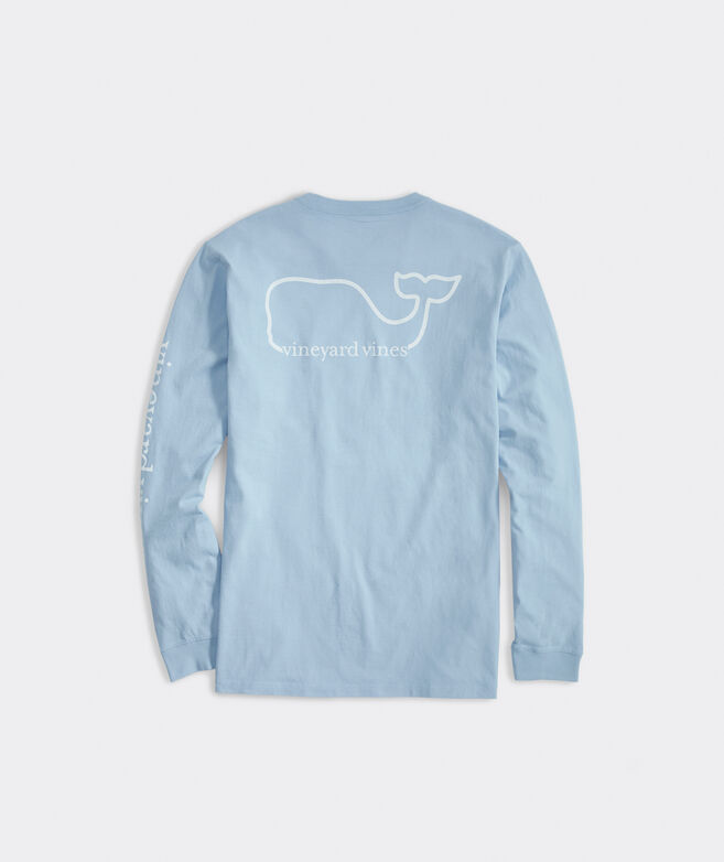 vineyard vines Whale Long-Sleeve Pocket Tee