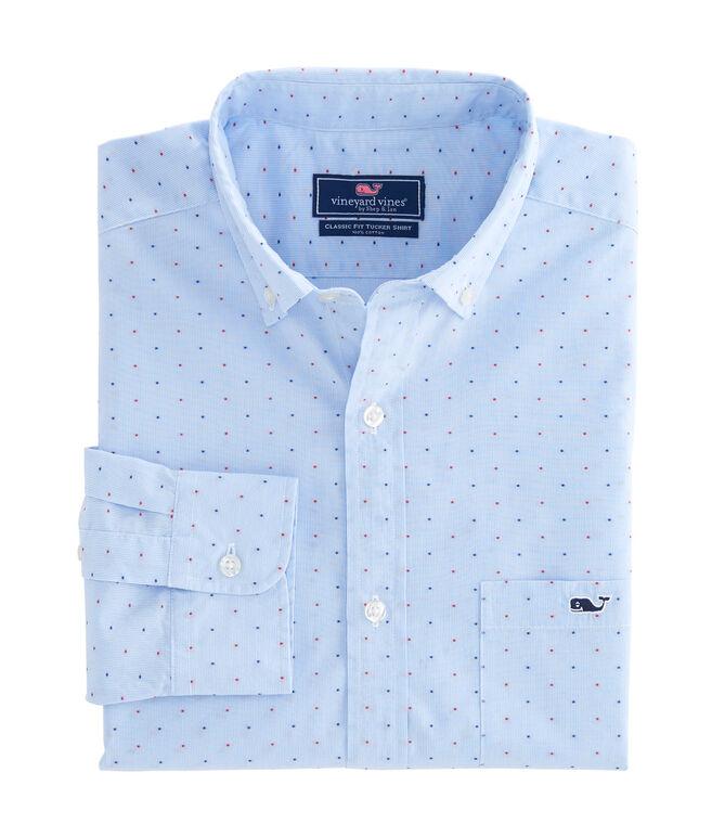 Viceroy Dobby Dot Classic Tucker Shirt