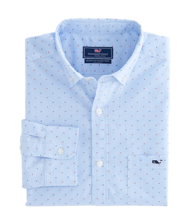 Viceroy Dobby Dot Classic Tucker Shirt