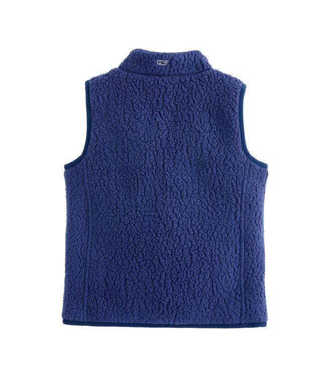 Girls Reversible Sherpa Shep Vest