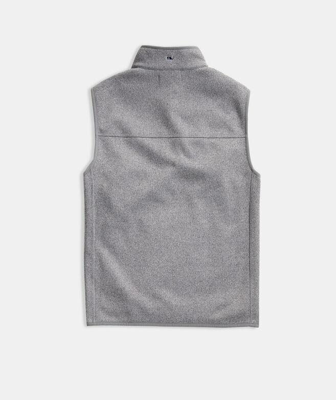 Men's Blank Mountain Sweater Fleece Vest
