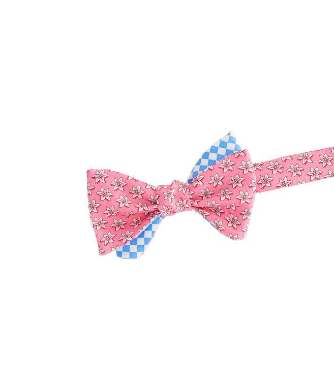 Lillies 2-Panel Bow Tie