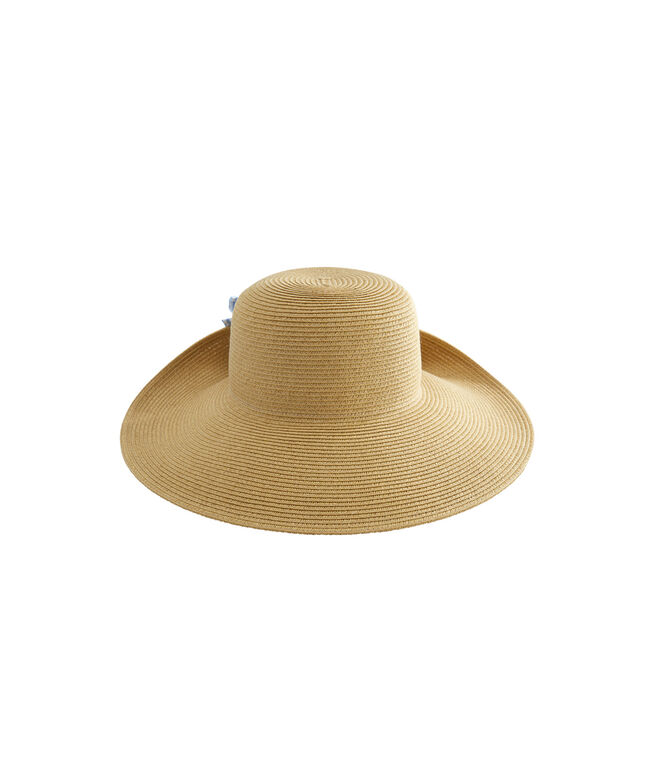Kentucky Derby Straw Bow Hat